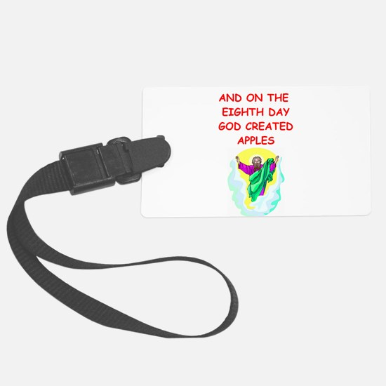 APPLE.png Luggage Tag