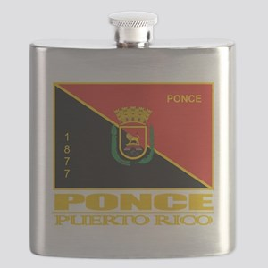Ponce Flag Flask