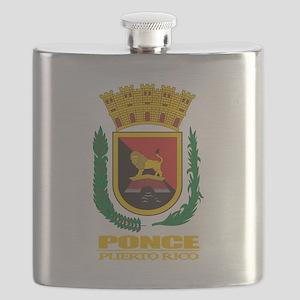 Ponce COA Flask