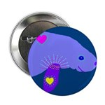 """manatee 2.25"""" Button (100 pack)"""