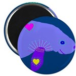 """manatee 2.25"""" Magnet (10 pack)"""