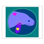 manatee Small Poster