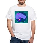 manatee White T-Shirt