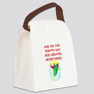 SECRETARIES Canvas Lunch Bag