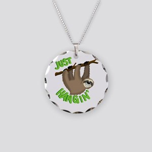 Just hanging... Necklace Circle Charm