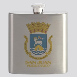 San Juan COA Flask