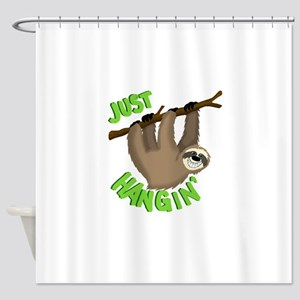 Just hanging... Shower Curtain