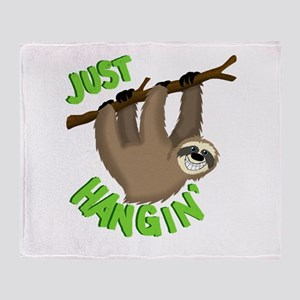 Just hanging... Throw Blanket