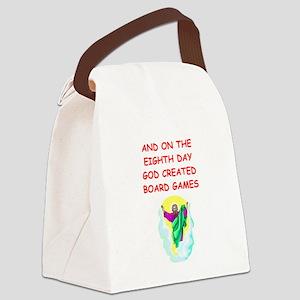 BOARDGAMES Canvas Lunch Bag