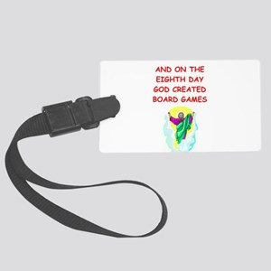 BOARDGAMES Large Luggage Tag