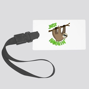 Just hanging... Large Luggage Tag