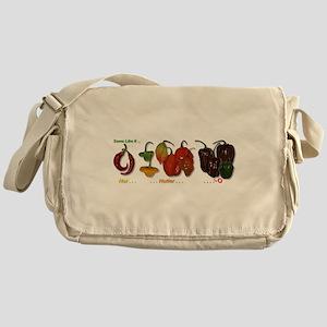 Hot Peppers Messenger Bag