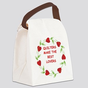 QUILTERS Canvas Lunch Bag