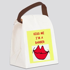BARBER Canvas Lunch Bag