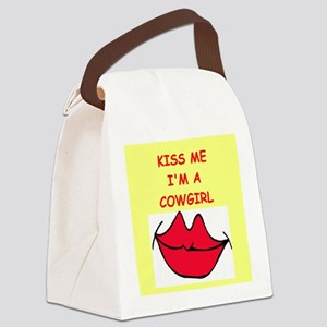 COWGIRL Canvas Lunch Bag