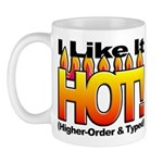 HOT logo on small Mug