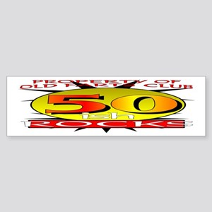 50ish Old Farts Club Bumper Sticker