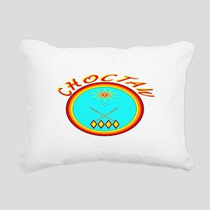 CHOCTAW Rectangular Canvas Pillow