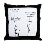 Sudo Throw Pillow