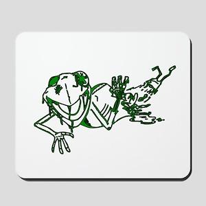 Zombe Frog Mousepad