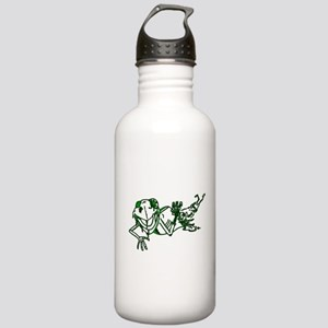Zombe Frog Stainless Water Bottle 1.0L