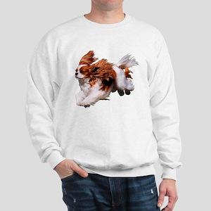 Cavalier Running- Blenheim Sweatshirt