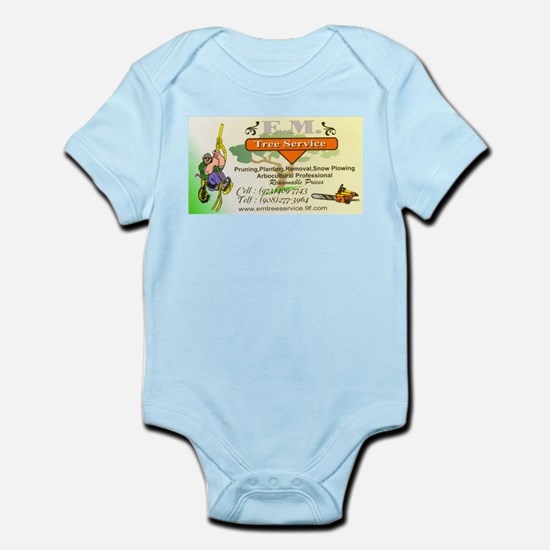 EM Tree Service Infant Bodysuit