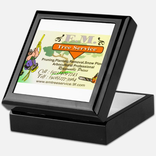 EM Tree Service Keepsake Box