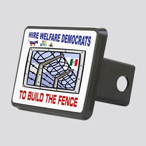 BORDER FENCE Rectangular Hitch Cover