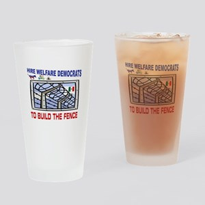 BORDER FENCE Drinking Glass