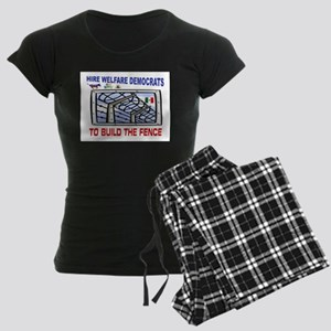BORDER FENCE Women's Dark Pajamas