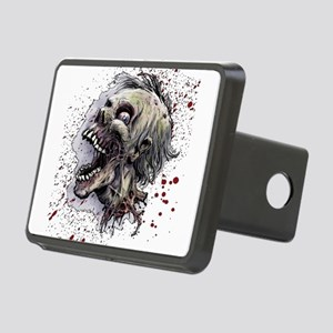 Zombie head Rectangular Hitch Cover