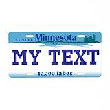 Minnesota License Plates