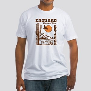 Saguaro National Park Fitted T-Shirt