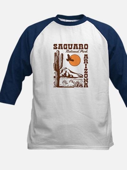 Saguaro National Park Kids Baseball Jersey