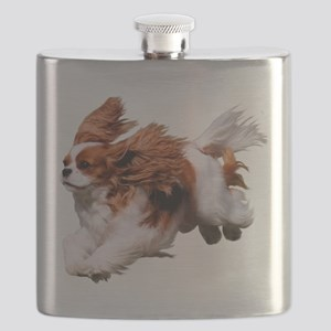 Cavalier Running- Blenheim Flask
