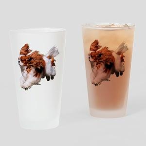 Cavalier Running- Blenheim Drinking Glass