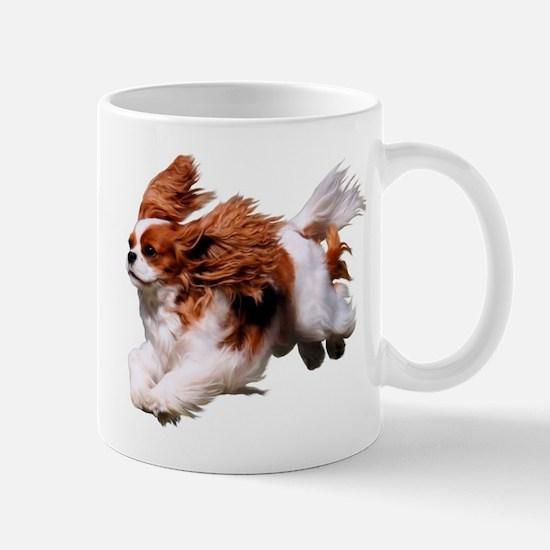 Cavalier Running- Blenheim Mug