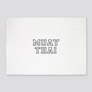 Muay Thai 5'x7'Area Rug