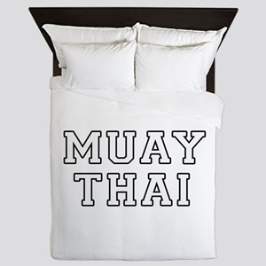 Muay Thai Queen Duvet