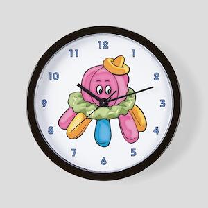 Cute Octopus Wall Clock