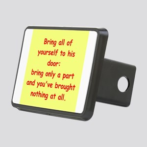 72 Rectangular Hitch Cover