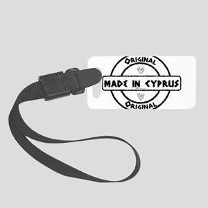 Made in Cyprus Small Luggage Tag