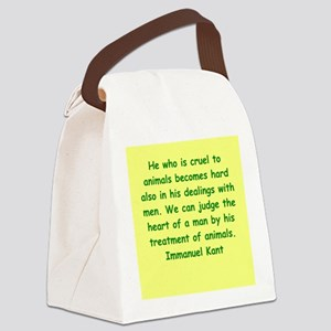 kant14 Canvas Lunch Bag