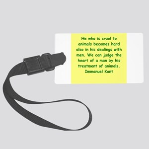 kant14 Large Luggage Tag