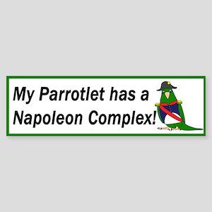Napoleon Complex Bumper Sticker