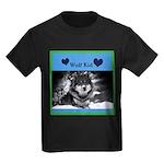 Wolf Kid Kids Dark T-Shirt