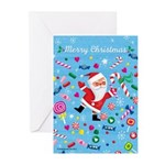 Merry Christmas Candy Greeting Cards (Pk of 10)