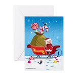 I Love You Sleigh Greeting Cards (Pk of 10)