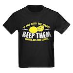 Free Lemons Kids Dark T-Shirt
